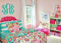 urquoise bedrooms, Teal teen bedrooms, Teen bedroom ideas for girls teal, Turquoise bedroom paint, Turquoise bedrooms and Turquoise bedroom decor. Teal Teen Bedrooms, Pink Bedroom For Girls, Teenage Girl Bedrooms, Little Girl Rooms, Trendy Bedroom, Turquoise Bedroom Decor, Bedroom Turquoise, Ideas Hogar, Winged Eyeliner