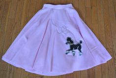 Poodle Skirt made from Polar Fleece by SimplyStitchedbyMKM on Etsy