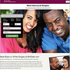 black and white dating app