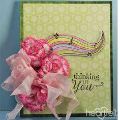 Heartfelt Creations - Rainbow Blossoms Project