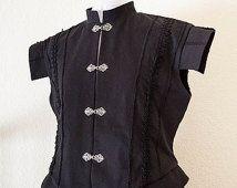 Men's S-XL Renaissance Doublet, Men's Renaissance Jerkin, Men's Renaissance Vest