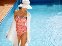 Flattering silhouettes for every body type! Bikini Inspiration, Swimsuits, Bikinis, Swimwear, Beach Gear, Beach Essentials, Bathing Beauties, Tommy Bahama, Silhouettes