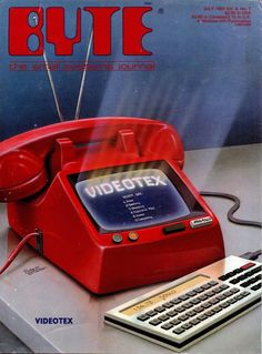 Byte magazine, Videotex cover, 1983