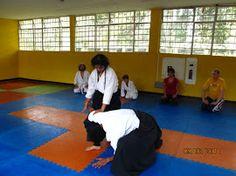 Aikido en Dojo Do con Laura Gordillo sensei