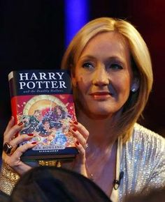 J.K Rowling. Well, she wrote Harry Potter...:) She is honestly a brilliant, brilliant woman. A fantastic authour, and she and her books will go down into history forever.
