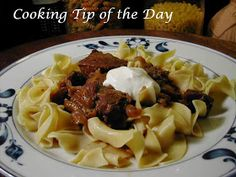 Cooking Tip of the Day: Recipe: Hungarian Beef Goulash