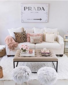 "Throwback to my spring living room this throw is the softest thing you have ever felt & is on sale for $25! I might snag a few more colors while it's on sale. I have the light blue version in this space now and moved the blush to the bedroom for now! The photo online doesn't look blush but it is ‍♀️ You can search ""living room"" in the search bar on my blog to see more pictures of this space! Decor details are also linked with @liketoknow.it http://liketk.it/2s2gO #liketkit"