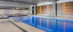 POINTE-NORD | Montreal | Architecture | Interior Design | Evolo 2 | Residential | Pool | Water | Indoor | Wood | Light | Tile Montreal, Condominium, Interiores Design, Bathtub, Water, Outdoor Decor, Home Decor, Standing Bath, Gripe Water