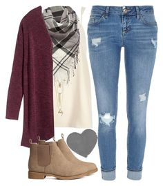 """""""Monday"""" by happy123321 ❤ liked on Polyvore featuring River Island, Vince Camuto, Barbour and H&M"""