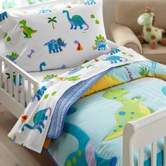 Olive Kids Dinosaur Land Toddler Comforter