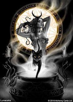 Gothic Artwork, Fantasy Artwork, Gothic Fantasy Art, Dark Gothic Art, Pagan Art, Vintage Witch, Goth Art, Fairytale Art, Catholic Art