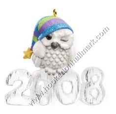 2008 - Hallmark Ornament - Cool Decade - Hallmark Keepsake Christmas Ornaments