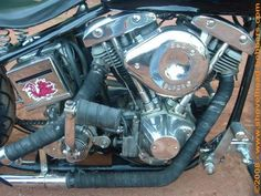 Photo of 1982 Harley Davidson Shovel Head Bobber bike by Mike.
