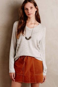 Tie-Back Pullover by Moth