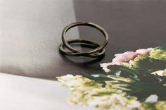 """""""Gli sbandati"""" ring - vintage burnished gold #ring #burnished #gold #wabisabi #vintage #raw #maschiogioielli #milano #jewels #minimal #fashion"""