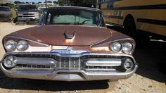 1959 Dodge Coronet 4 DR Parts Car. Many good parts both body and mechanical and chrome trim.
