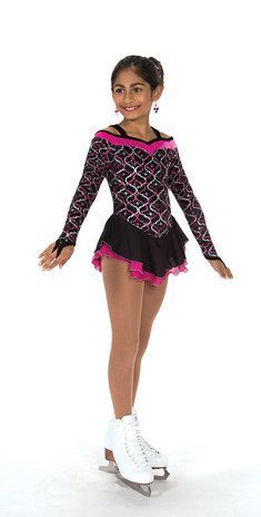 Jerry's Figure Skating Dress 161 - Glamour