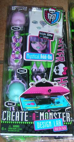 Pinterest Create a Monster Design Lab Add on Mystical Girl Mattel Monster High doll http://www.monsterhighcollector.com/viewstory.php?sid=136