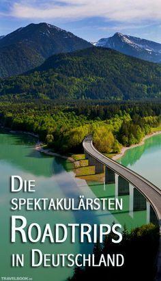 Wer in Deutschland einen Roadtrip machen möchte, hat viel Auswahl: Rund 150 Ferienstraßen gibt es, und die meisten dieser Landstraßen präsentieren eine Region oder folgen einem besonderen Thema, von Geschichte über Weinbau bis zu Märchen. Hier eine Auswahl.