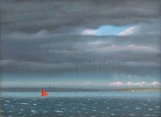 Robert Stark, Downwind, 2013, oil on canvas, 9 X 12 inches