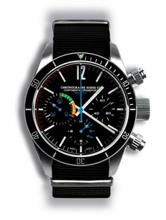 The Best Looking Watch of All Time? The Chronographe Suisse Cie Continental Gransport Regatta. » Time Slug