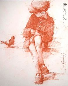 This makes me want to start drawing more. Andre Kohn