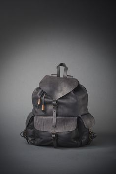 leather backpack # lostboydesign