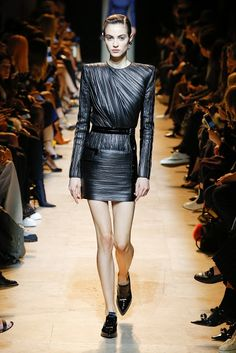 Fashion fan blog from industry supermodels: Camille Hurel - Mugler A/W 17
