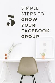 Want to know how to grow your Facebook group fast and in an organic way, check out 5 simple steps that will help you skyrocket your group's growth and engagement! #facebookgroup #facebookgrowth  #facebookengagement Facebook Marketing, Business Marketing, Business Tips, Social Media Marketing, Online Business, Marketing Ideas, Creative Business, Online Marketing, Using Facebook For Business