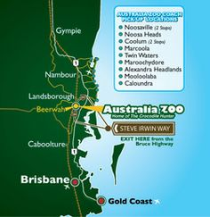 Australian Zoo at Beerwah Crocodile Hunter Brisbane Cairns