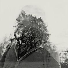 Double Exposure Photos by Martin Lovekosi | Faith is Torment | Art and Design Blog
