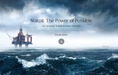 Statoil. The Power of Possible - Website of the Day - 26 November 2014 http://www.csswinner.com/details/statoil-the-power-of-possible/8353