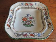 """Buy COPE SPODE SERVING DISH WITH COVER - """"CHINESE ROSE""""for R795.00"""