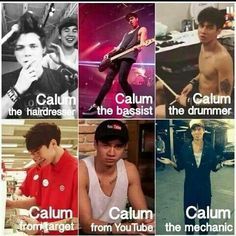 Which is your favorite Calum? (if you can choose;))