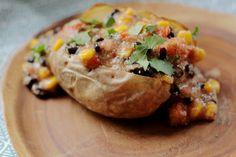 Recept: gepofte aardappel met 'Mexicaanse' amarant