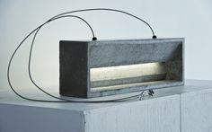 Concrete Lamp - KAL/SVART