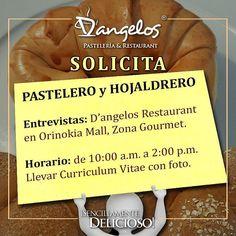 Eres #hojaldrero o #pastelero? Te invito a formar parte del equipo de D'angelos Pastelería.  Contacto 0414-8928862 y en nuestro perfil.  #Guayana  #emprendimiento  #empleo #oportunidad  #puertoordaz  #pzocity  #SencillamenteDelicioso #soypuertoordaz  #quehayenpuertordaz