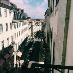 Our nice view from the office! #Insuites #lisbon #lisboa #chiado #visitus #fridayafternoon #cloudy #nice #weekend #VSCOcam