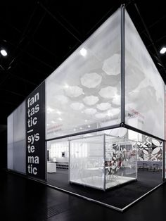Burkhardt Leitner fair stand at EuroShop 2011 by Ippolito Fleitz Group, Düsseldorf exhibit design