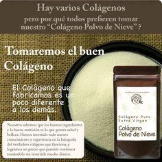 Colágeno Nieve Polvo - Colágeno Extra Virgen en México