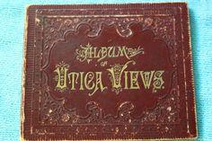 Utica, NY Photo Album, ca. 1890, 12 Pages of City Views