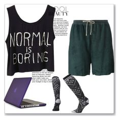 """lazy day"" by shadow-lullaby on Polyvore featuring Rick Owens, Speck and Smartwool"