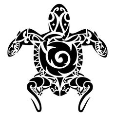 tatuagem.polinesia.maori.0144.tartaruga braço by Tatuagem Polinésia - Tattoo Maori, via Flickr