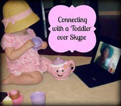 Teacher Turned Momma: Staying Connected with a Toddler Long-Distance #skype #parents #moms