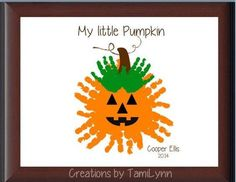 Crafts for vayda (fall crafts for kids handprints) Halloween Crafts For Kids, Halloween Activities, Halloween Art, Toddler Halloween, Halloween Costumes, Daycare Crafts, Baby Crafts, Preschool Crafts, Kid Crafts