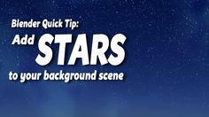 Blender Quick Tip: Create Stars Using Nodes