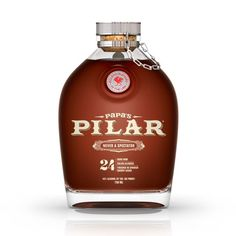 Papa's Pilar rum- inspired by Hemingway, a strong, flavorful rum to try!