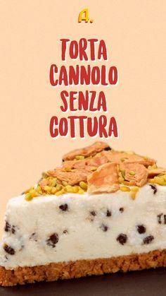 Ricotta, Gelato, Cheesecake, Food Art, Nutella, Sweet Recipes, Buffet, Food And Drink, Banana