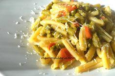 pasta con asparagi e pomodorini, ricetta con tutorial passo a passo