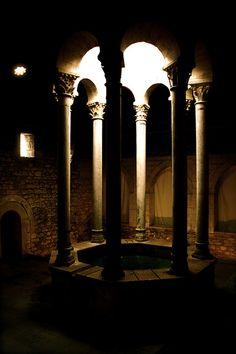banys àrabs  Girona  Catalonia